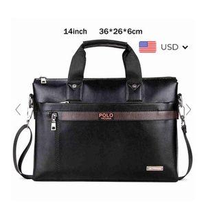 NWT Polo Vicuna Laptop Messenger Bag